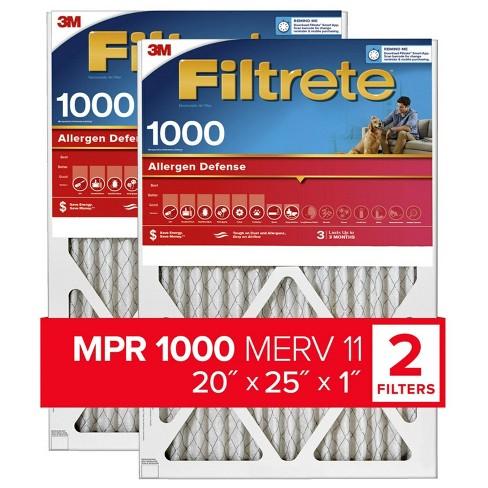 Filtrete 2pk Allergen Defense Air Filter 1000 MPR - image 1 of 3