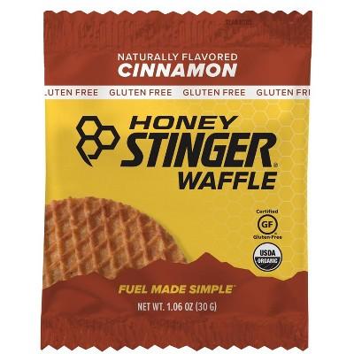 Honey Stinger Cinnamon Waffle Nutrition Bars