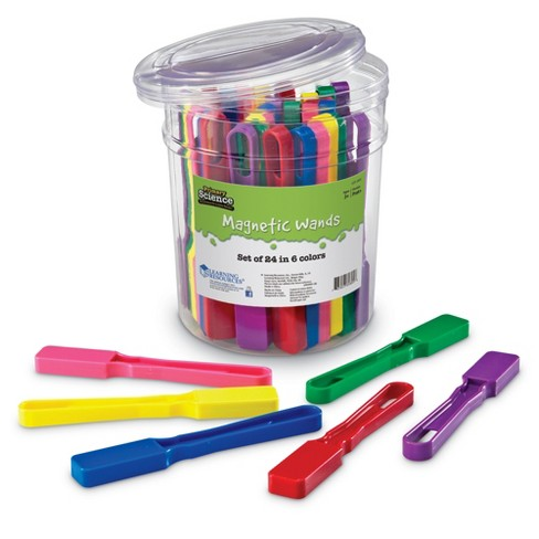 Learning Resources Magnetic Wands, Set of 24, Grades 1+ - image 1 of 4