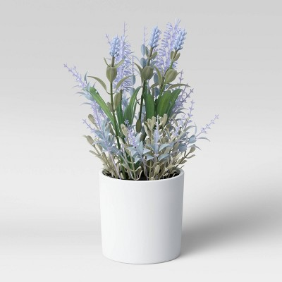 "10"" x 6"" Artificial Lavender Arrangement - Threshold™"