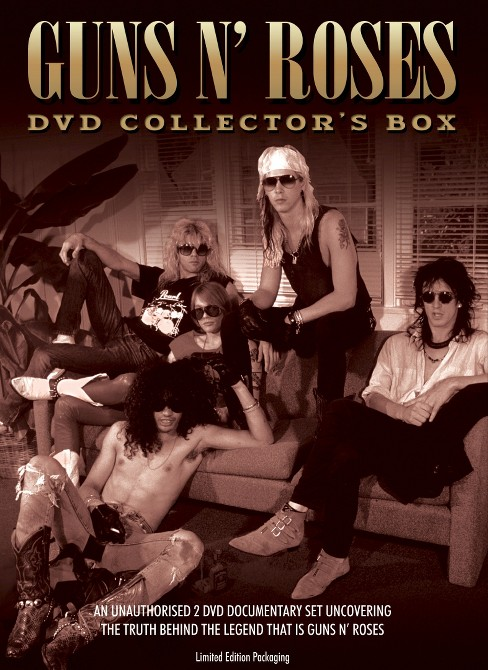 Guns n roses:Dvd collector's box (DVD) - image 1 of 1