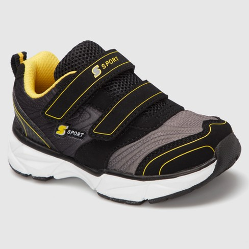 Toddler Boys' S Sport by Skechers Bungle Athletic Shoes - Black 9 - image 1 of 4