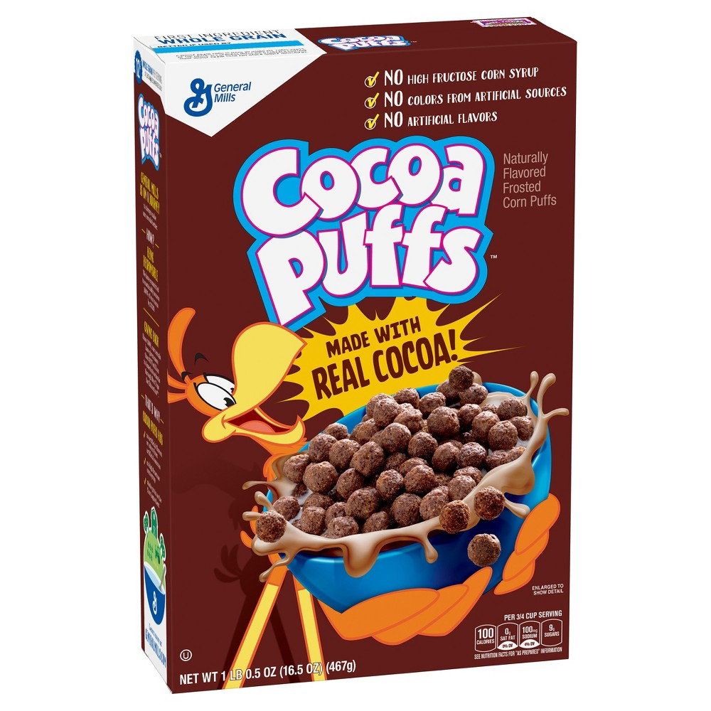 Cocoa Puffs Breakfast Cereal - 16.5oz - General Mills