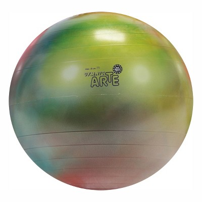 Gymnic Arte Ball Plus 75 Fitness, Exercise and Therapy Ball - Swirl