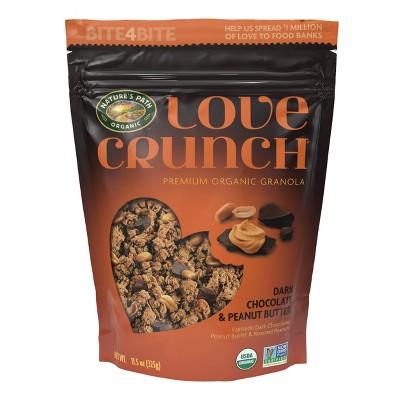 Nature's Path Love Crunch Dark Chocolate and Peanut Butter - 11.5oz