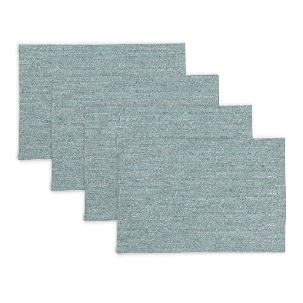 """Image of """"4pk 13""""""""X19"""""""" Harper Placemats Green - Town & Country Living"""""""