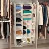 10 Pocket Canvas Shoe Organizer - Natural Blended - image 4 of 4