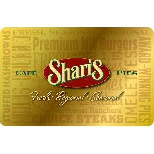 Sharis Café Gift Card (Email Delivery)