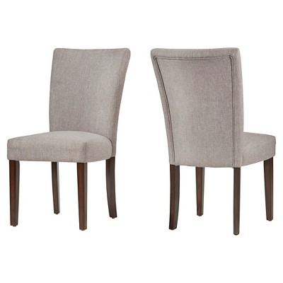 Set of 2 Quinby Side Dining Chair Smoke - Inspire Q