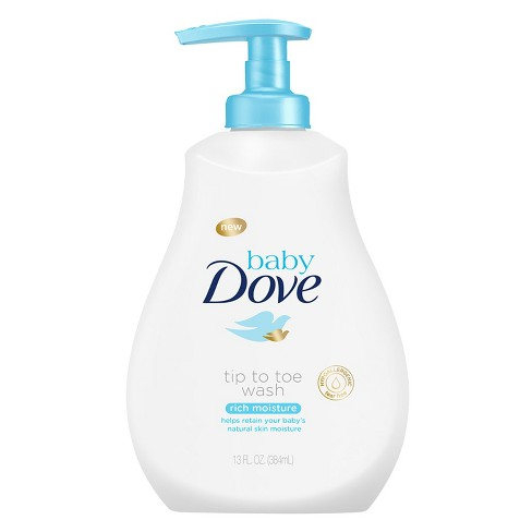 Baby Dove Rich Moisture Tip-to-Toe Wash - 13oz - image 1 of 2