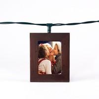 Polaroid Wood Photo Frame String LED Light Boxes Candlenut