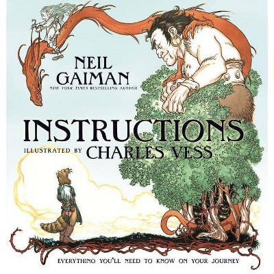 Instructions - by  Neil Gaiman (Hardcover)