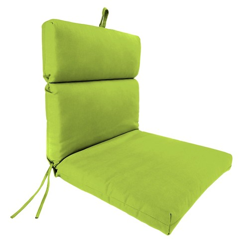 Jordan French Edge Chair Cushion - Green Opaque - image 1 of 3