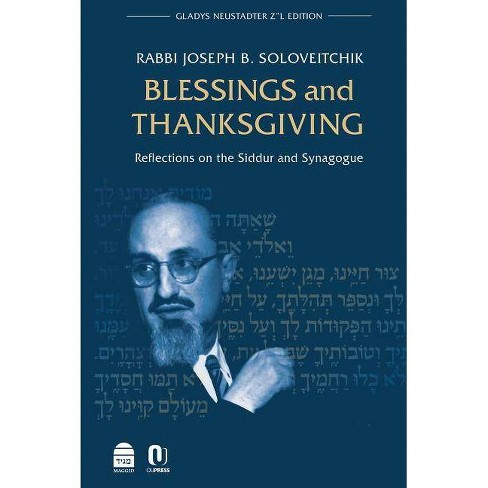 Blessings and Thanksgiving - by  Joseph B Soloveitchik (Hardcover) - image 1 of 1