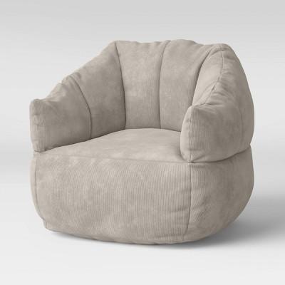 Corduroy Bean Bag Chair Sandstorm - Room Essentials™