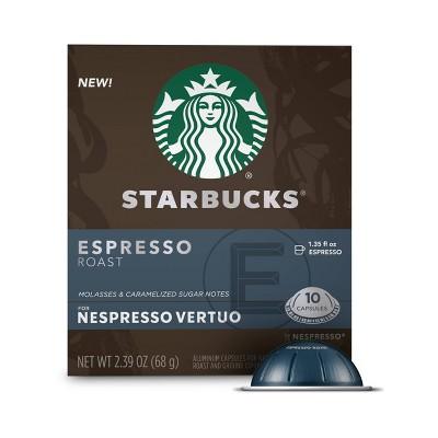 Starbucks by Nespresso Vertuo Espresso Roast Coffee – 10ct