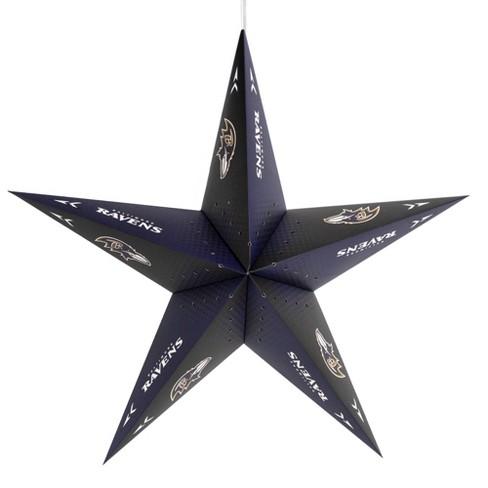 NFL Baltimore Ravens Star Lantern - image 1 of 2