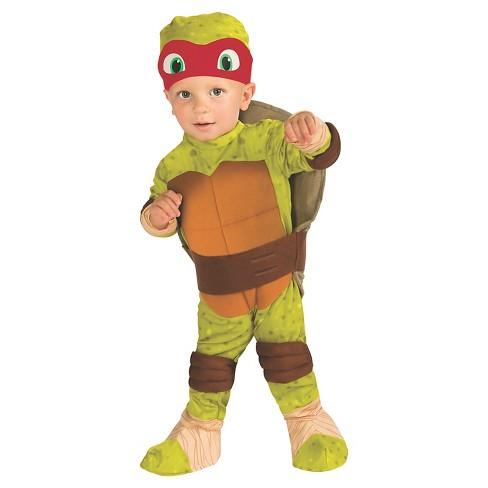teenage mutant ninja turtles raphael toddler costume 2 4t