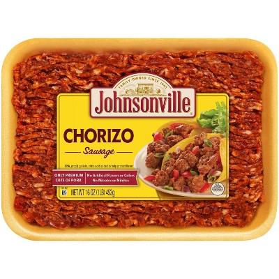 Johnsonville Chorizo Ground Sausage - 16oz