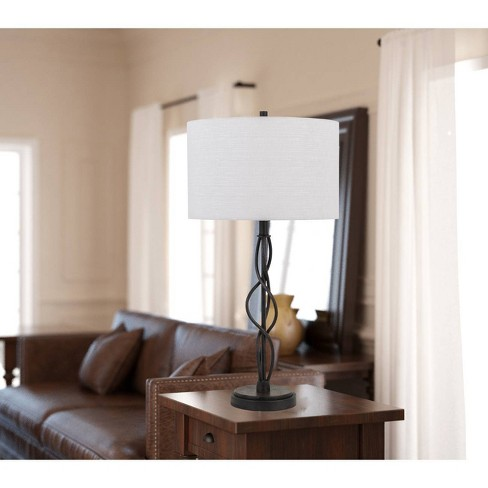 Antony 150W 3 Way Metal Table Lamp Textured Bronze (Lamp Only) - Cal Lighting - image 1 of 1