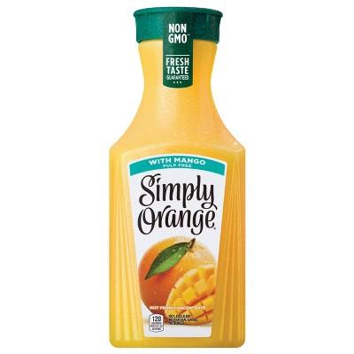 Simply Orange with Mango Juice Blend - 52 fl oz