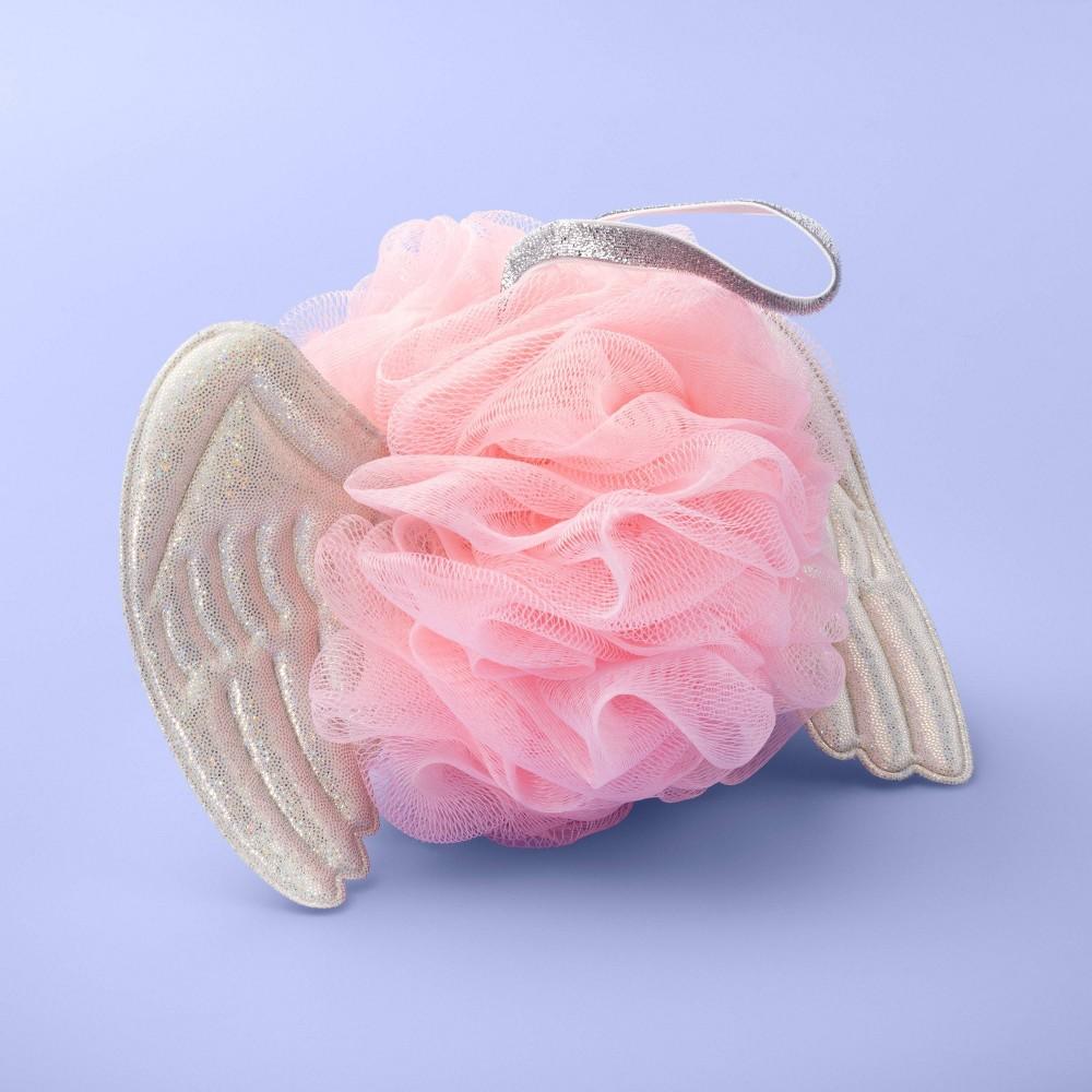 Image of Angel Wings Mesh Sponge - More Than Magic Pink