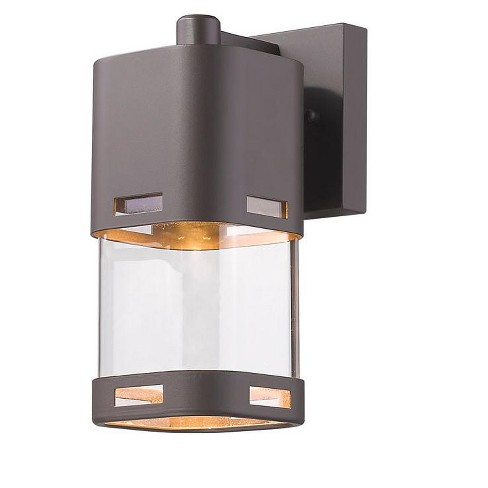 "Z-Lite 562S-LED Lestat 9-1/4"" Tall Integrated 2700K LED Outdoor Wall Sconce - image 1 of 1"