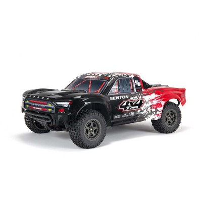 ARRMA RC Truck 1/10 SENTON 4X4 V3 3S BLX Brushless Short Course Truck RTR (Battery and Charger Not Included), Red, ARA4303V3T2
