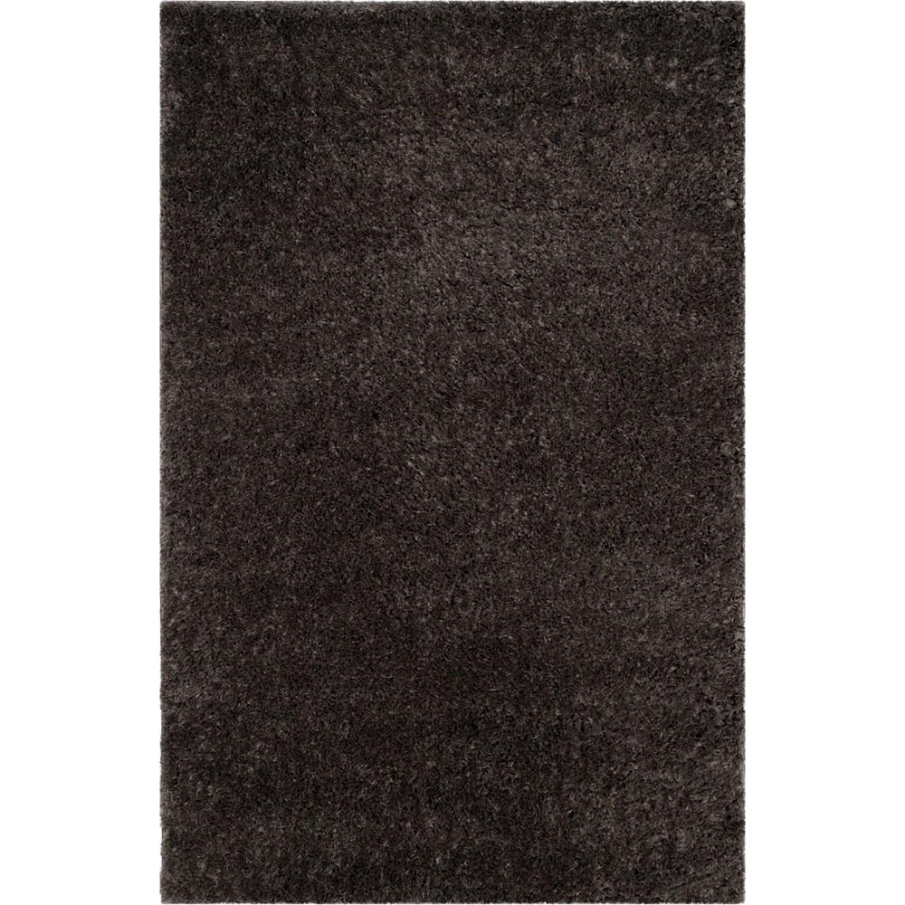 3'X5' Solid Loomed Accent Rug Gray - Safavieh