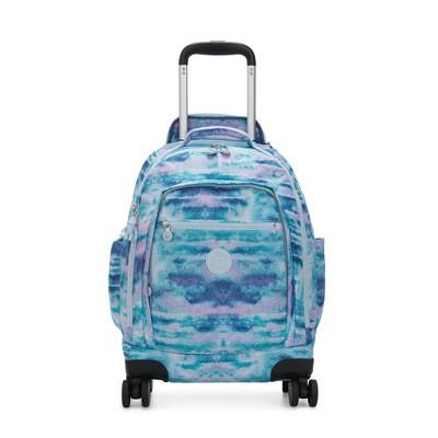 """Kipling Zea Printed 15"""" Laptop Rolling Backpack"""