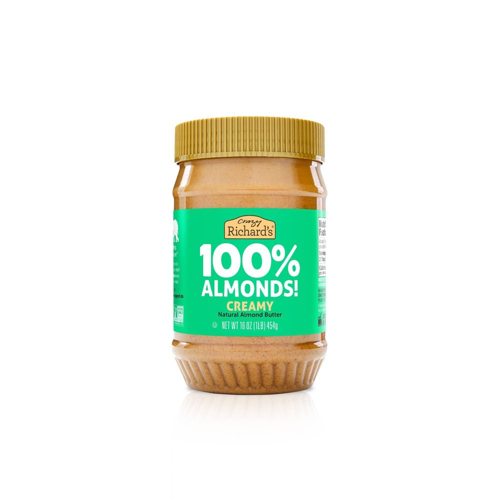 Crazy Richard 39 S Almond Butter Natural