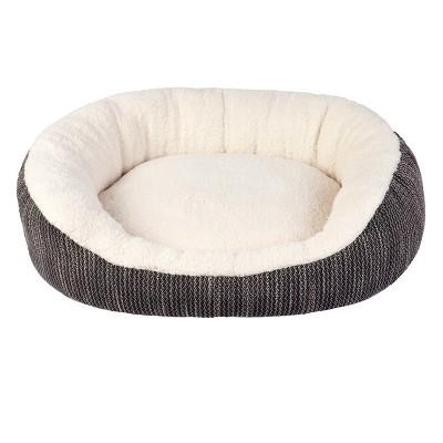 Oval Dog Bed - Jacquard - M - Boots & Barkley™