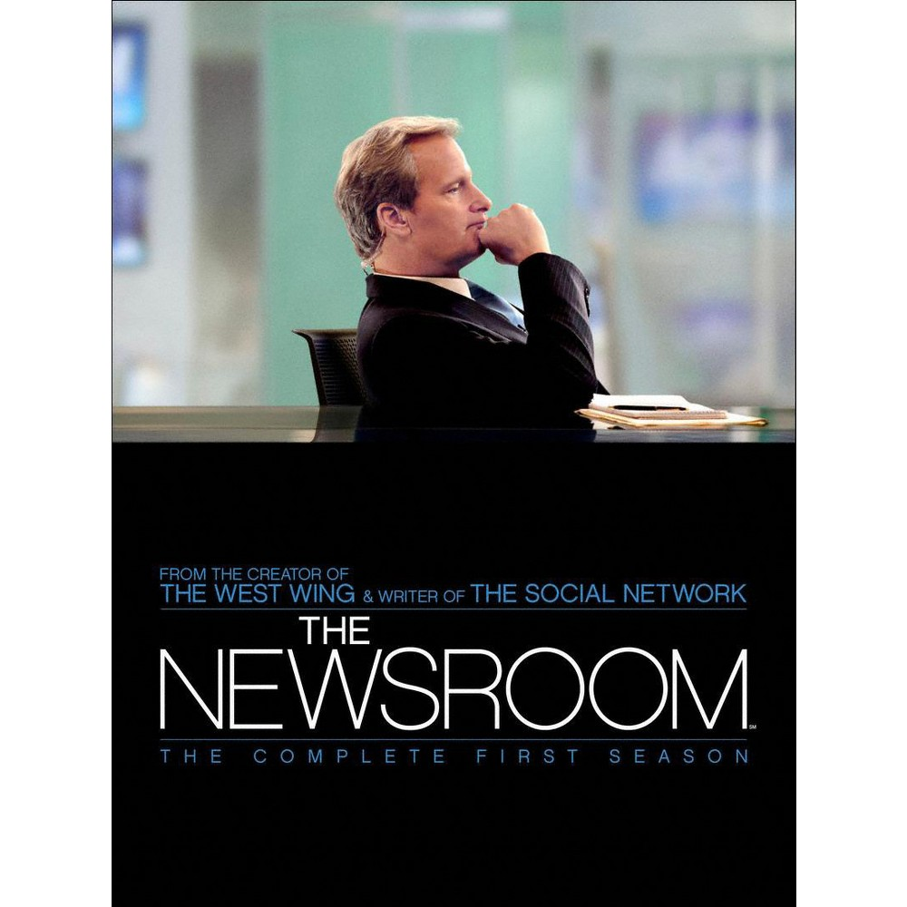 The Newsroom: The Complete First Season [4 Discs]