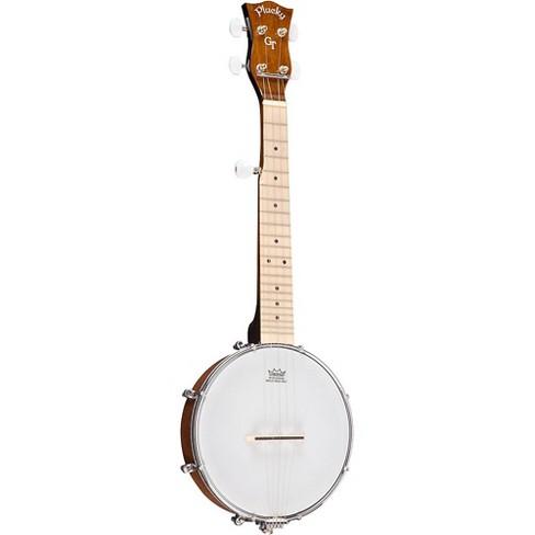 Gold Tone Plucky 5-String Travel Banjo Vintage Brown - image 1 of 4