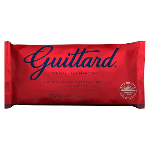 Guittard Extra Dark Chocolate Baking Chips - 11.5oz - image 1 of 1