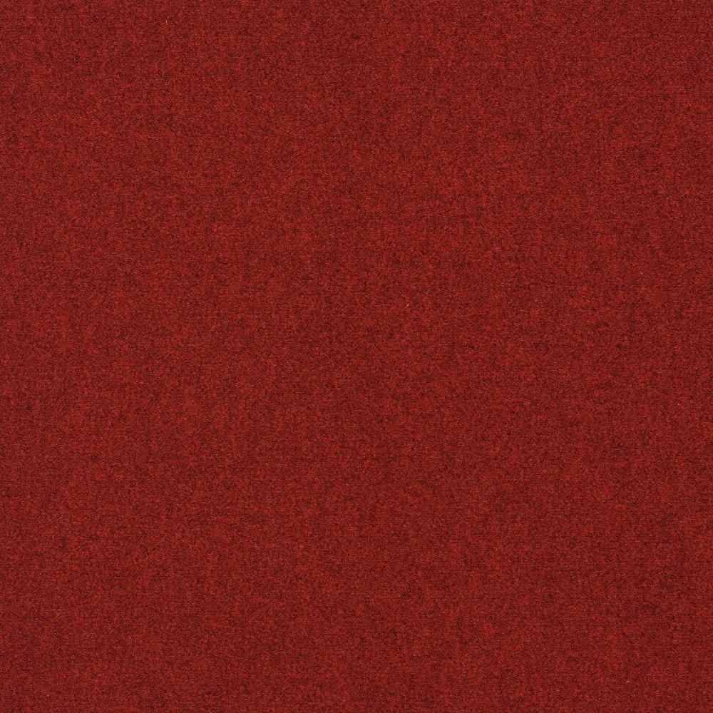 24 8pk Self Stick Carpet Tile Red - Foss Floors Reviews