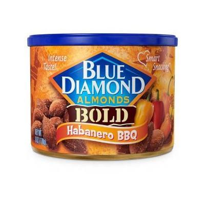 Blue Diamond Almonds Bold Habanero Bbq - 6oz
