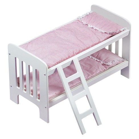 Badger Basket Doll Bunk Beds with Ladder - image 1 of 4