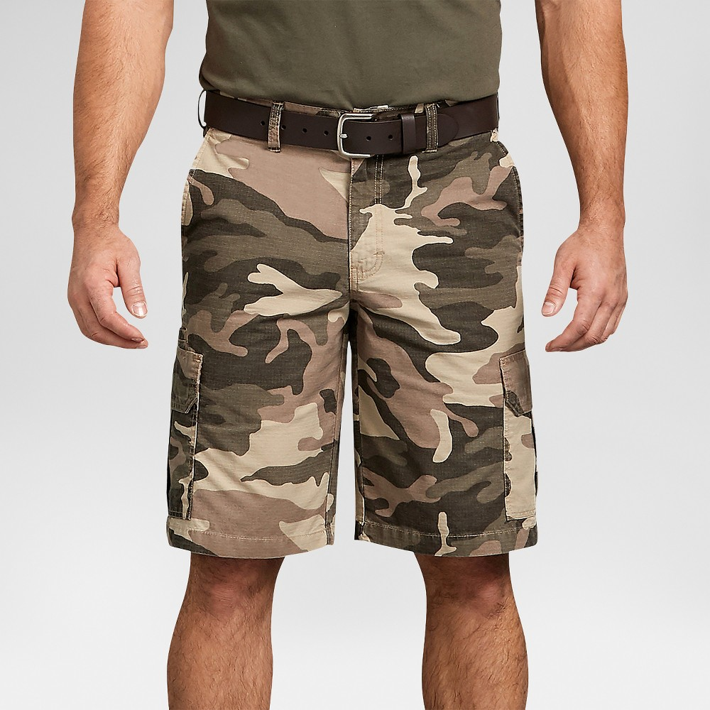 Dickies Men 39 S 11 34 Relaxed Fit Lightweight Ripstop Cargo Shorts Soft Taupe 42
