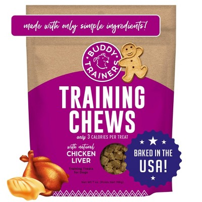Buddy Biscuits Liver Puppy Training Treats - 7oz