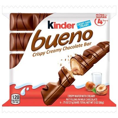 Kinder Bueno King Size Hazelnut Chocolate Candy - 3oz