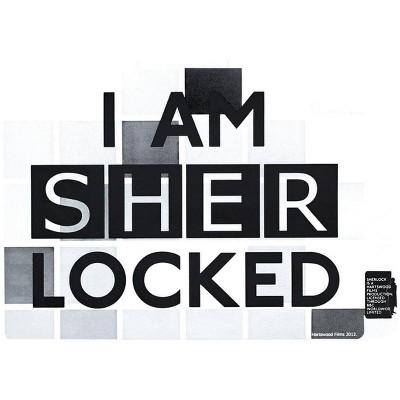 """Se7en20 Sherlock Holmes """"I Am Sher Locked"""" Sticker"""
