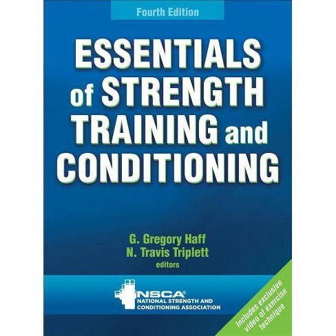 Essentials of Strength Training and Conditioning - 4th Edition (Mixed media product) - image 1 of 1