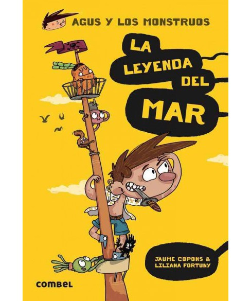 La leyenda del mar/ The legend of the sea (Paperback) (Jaume Copons) - image 1 of 1
