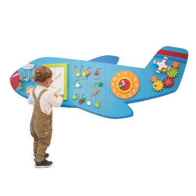 Learning Advantage Airplane Activity Wall Panel
