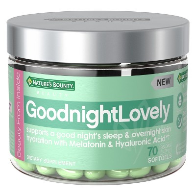 Sleep Aids: Nature's Bounty Goodnight Lovely