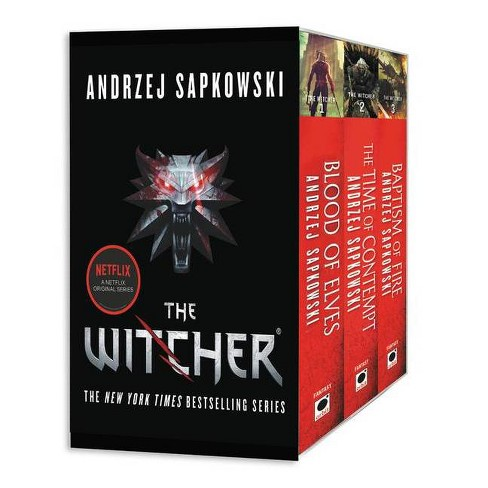 The Witcher Boxed Set: Blood of Elves, the Time of Contempt, Baptism of Fire - by  Andrzej Sapkowski - image 1 of 1