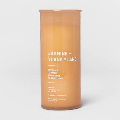 10.5oz Glass Jar Jasmine and Ylang Candle - Project 62™
