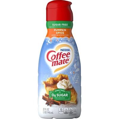 Coffee mate Zero Sugar Pumpkin Spice Coffee Creamer - 1qt