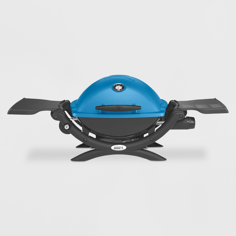 Weber Q 1200 LP Gas Grill- Blue 16754021